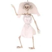 Partychimp - Skelet - Bruid - 50cm