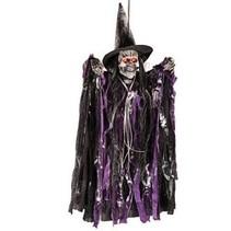 Carnival Toys - Skelet - Hangend - Heks - Met licht & geluid