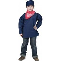 Funny Fashion - Boerenkiel - Blauw - mt.104