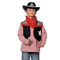 Witbaard - Vest - Cowboy