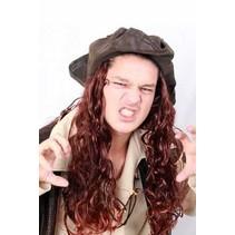 PartyXplosion - Hoed - Caribische piraat - Bruin haar