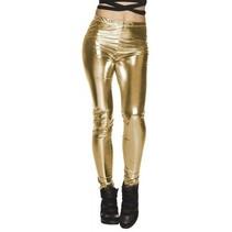 Partychimp - Legging - Goud - Maat L/XL