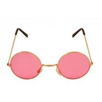 Partychimp - Bril - Hippie - Roze
