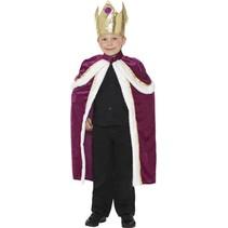 Smiffys - Kostuum - Koning - mt.116