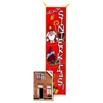 Partyxplosion - Banner - Sinterklaas - 80x206cm