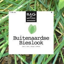 Bag to nature - Buitenaardse bieslook