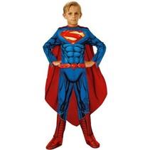Rubies - Kostuum - Superman - Gespierde look - mt.128/134 - 8 tot 10 jaar