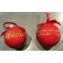 Miko - Kerstbal - Liefste moeder