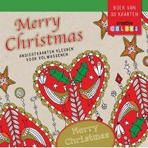 Lantaarn - Kleuren - Ansichtkaarten - Merry Christmas - 30dlg.