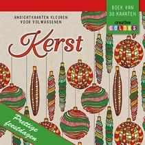 Lantaarn - Kleuren - Ansichtskaarten - Kerst - 30dlg.