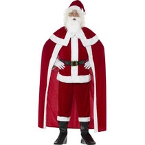 Smiffys - Kostuum - Kerstman - Luxe - XL
