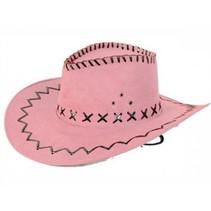 Partychimp - Hoed - Cowboy - Roze