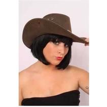 Boland - Hoed - Cowboy - Bruin - Luxe