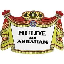 Witbaard - Huldebord - Hulde aan Abraham