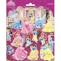NSC - Stickers - Prinsessen - Disney