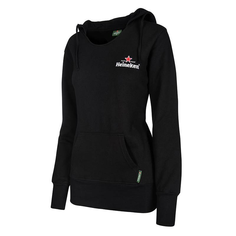 Heineken ladies black hooded sweater | Heineken Merchandise ...