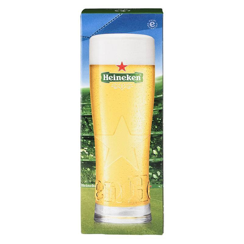 Heineken UCL Glass in Giftbox