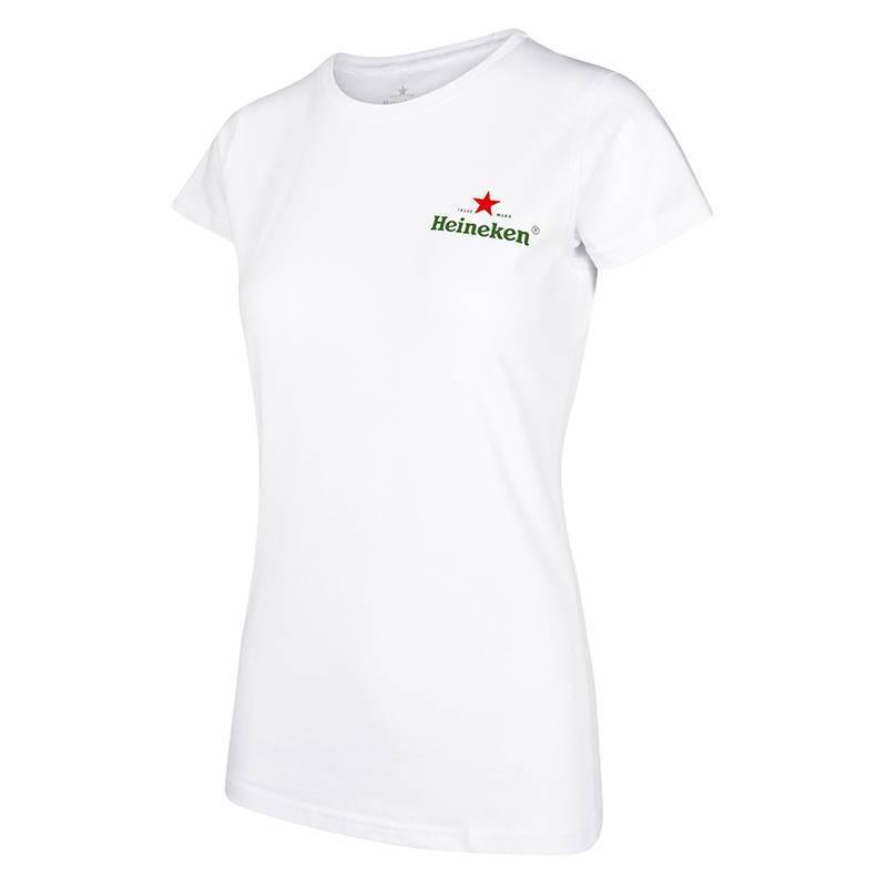 Heineken White T-shirt Women
