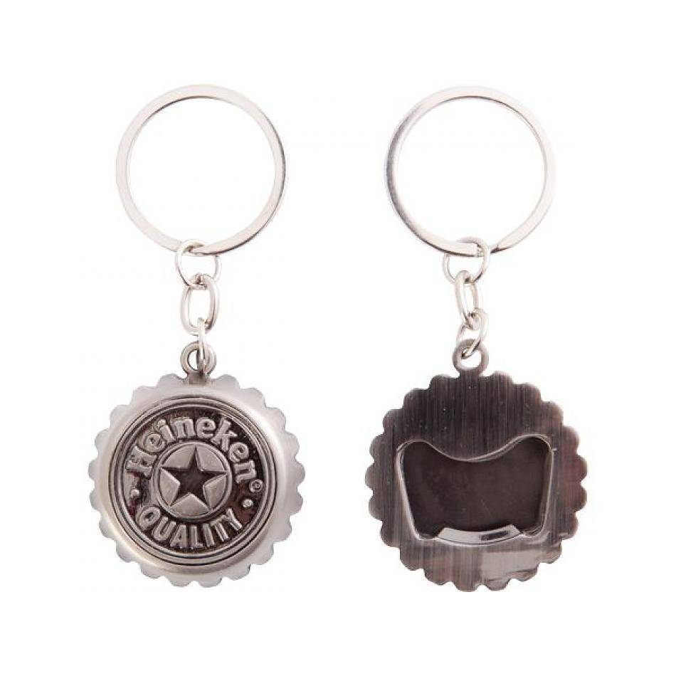 Heineken OPENER CROWN CORK KEY CHAIN