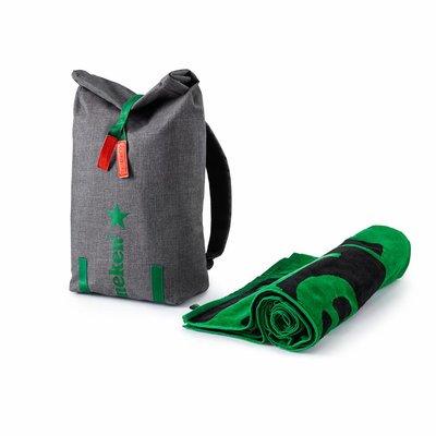 Cooler Bag & Heineken Towel