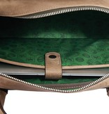 Heineken Heritage leather laptop bag