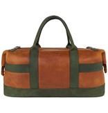 Heineken Retro  leather travel bag