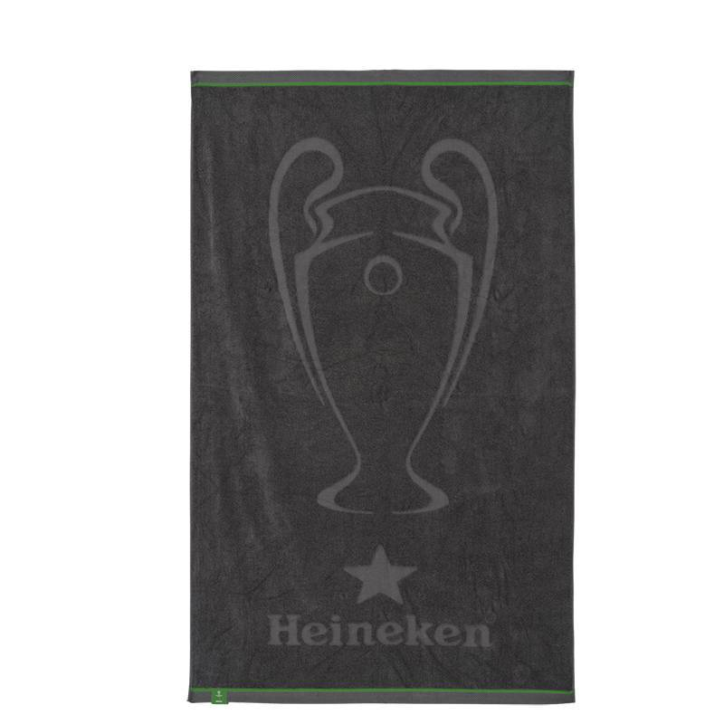 Heineken UEFA Champions League and Heineken Grey Beach Towel