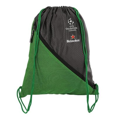 Heineken UEFA Champions League Green Drawstring Bag