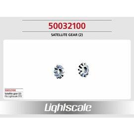 Lightscale Satelitenrad 10 Zähne