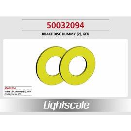 Lightscale Brake Disc Dummy, GFK