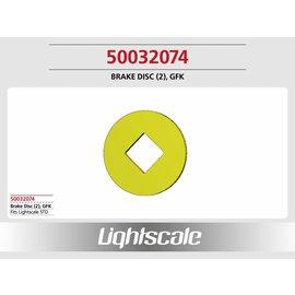 Lightscale Bremsscheibe GFK