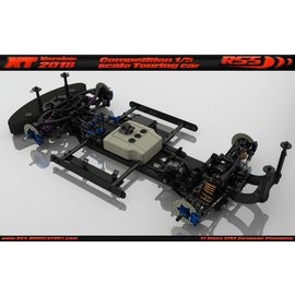 RS5 Modelsport XT 2018 Touring Car Chassis kit