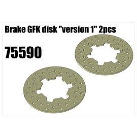 """RS5 Modelsport Brake GFK disk """"version 1"""""""