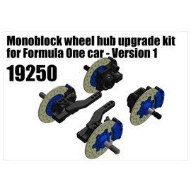 RS5 Modelsport Monoblock wheel hub upgrade kit for Formula One car - Version 1