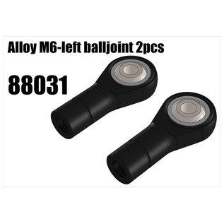 RS5 Modelsport Alloy M6-left balljoint 2pcs