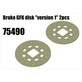 "RS5 Modelsport Brake GFK disk ""version 1"""