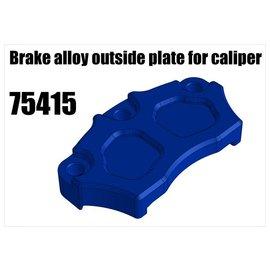 RS5 Modelsport Brake alloy outside plate for caliper