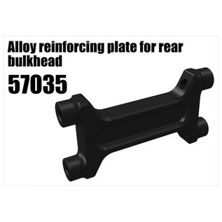 RS5 Modelsport Alloy reinforcing plate for rear bulkhead