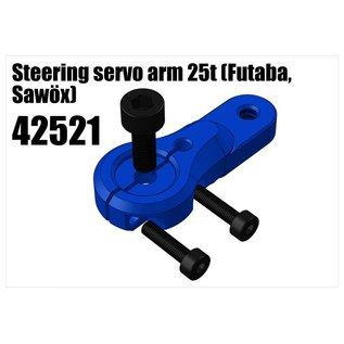 RS5 Modelsport Alloy single servo arm 25t (Futaba, Savöx)