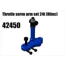 RS5 Modelsport Alloy Throtle servo arm set 24t (Hitec)