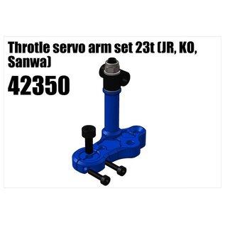 RS5 Modelsport Alloy Throtle servo arm set 23t (JR, KO, Sanwa)