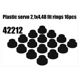 RS5 Modelsport Plastic servo 2,1x4,48 fit rings 1