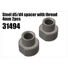 RS5 Modelsport Steel d5/d4 spacer with thread 4mm