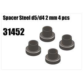 RS5 Modelsport Steel d5/d4 spacer 2mm