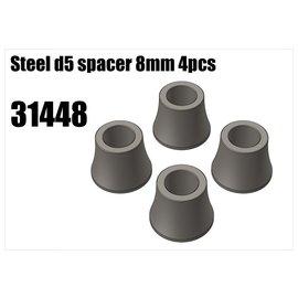 RS5 Modelsport Steel d5 spacer 8mm