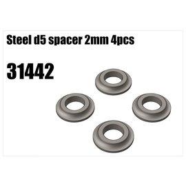 RS5 Modelsport Steel d5 spacer 2mm