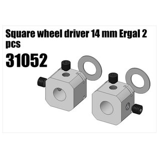 RS5 Modelsport Alloy wheel square 14mm 2pcs