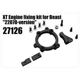 "RS5 Modelsport XT Engine fixing kit for Beast ""22070-version"""