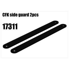 RS5 Modelsport CFK side guards