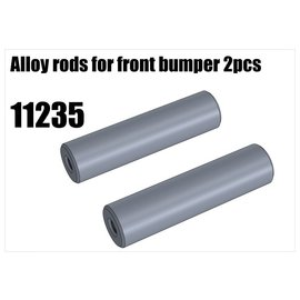RS5 Modelsport Alloy rods for front bumper